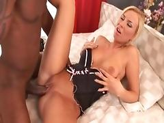 Fabulous pornstar in horny big dick, blonde porn video