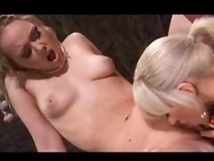 Fabulous pornstars Amber Peach and Frankie Dashwood in incredible blowjob, 69 xxx movie
