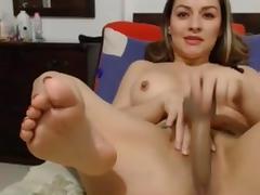 latina masturbate creamy orgasm - dirty squirt + anal