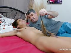 Daddy and Nishi Flip Fuck Raw