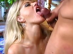 All, Big Cock, Big Tits, Blonde, Blowjob, Facial