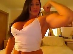 Muscle, Amateur, Flexible, Muscle, Bodybuilder, Big Natural Tits
