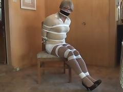 BDSM, BDSM, Bound, Choking, Gagging, Tied Up
