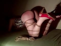 Shibari spanking