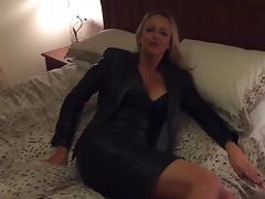 Bedroom, Amateur, Bedroom, Black, British, Leather