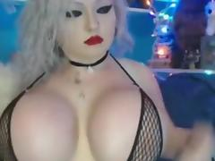 Shaking My Crazy Huge Boobs