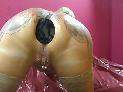 Buttplug, Anal, Ass, Asshole, Tattoo, Buttplug