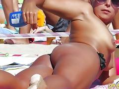 Caught, Babe, Beach, Caught, Nude, Voyeur