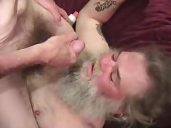 Mature Amateurs Marc and Lonnie Suck Dick