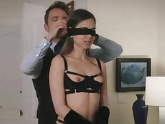 Bra, Adultery, Blindfolded, Bra, Cheating, Couple