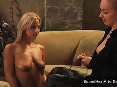 Training Young Euro Girl To Be Good Slave