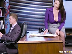 Long Hair, Big Tits, Couple, Cowgirl, Cumshot, Doggystyle