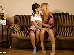 Lesbian sex on Sapphic Erotica with Nana Nicole Vice