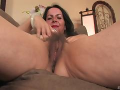 Nina Swiss is a mature chick who loves masturbating hardcore