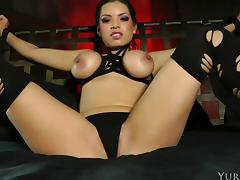 BDSM treatment that is so arousing for beauty Yuri Luv