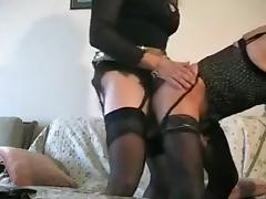 Amazing Amateur Shemale movie with Mature, Stockings scenes
