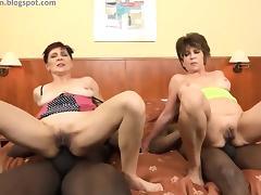 Grandmother, Anal, Ass, Assfucking, Bisexual, Brunette