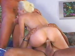Incredible pornstar Alana Evans in exotic threesomes, dp porn clip