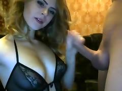 Sucking, Blowjob, Fucking, Girlfriend, Lingerie, Webcam