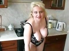 a  very sexy russian mother
