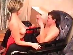 Russian mom Angela with her boy 2