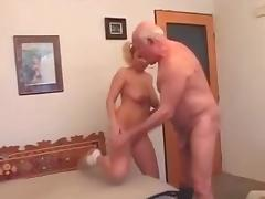 Grandfather, Grandpa, Old Man, Outdoor, Pissing, Grandfather