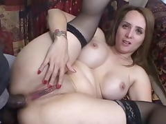 Fabulous pornstar in hottest dp, anal sex clip