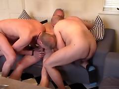Four fuck and cum