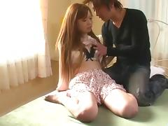Mami Masaki starts having sex on cam in harsh ways