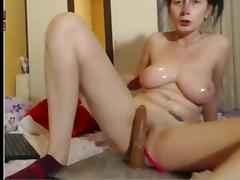Ohmibod torture big tits orgasm