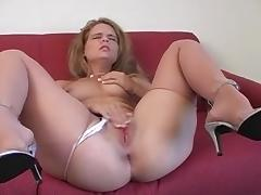 Pantyhose Play 3