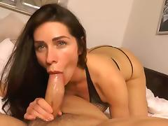 Crazy Homemade record with Blowjob, Webcam scenes