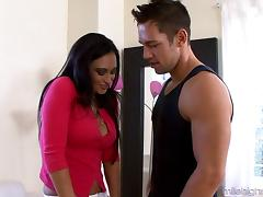 Claudia Valentine's pussy plowed well by a skillful lover