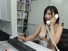 Hottest Japanese slut Mei Akizuki in Crazy Softcore, Office JAV movie