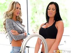 Courtney Taylor And Jasmine Jae In Can I Bother You For A Ta