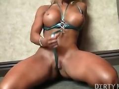 Fit Megan Avalon and Her Pretty Blonde Pussy