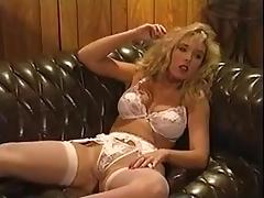 Victoria paris in white lingerie  fucks Peter North