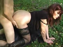 On Her Knees, Bitch, Doggystyle, Stockings, Whore, Bend Over