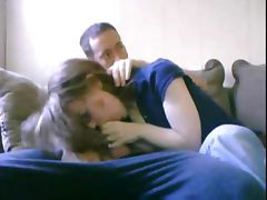 Girlfriend blowjob
