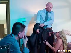 Boss, Adultery, Blonde, Blowjob, Boss, Cheating