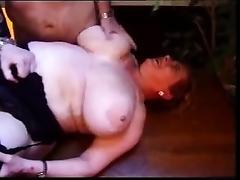 BBW granny Olga anal