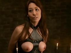 Hottest Japanese slut Akari Minamino in Fabulous Big Tits, Femdom JAV scene