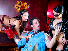 Anissa Kate & Rina Ellis & Luke Hardy in Rina Ellis Saves The World: A XXX 90s Parody, Episode 4 - DigitalPlayground