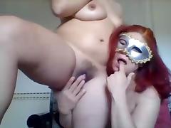 Lesbian webcam show