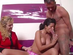 Mom and Boy, Amateur, Couple, Fucking, German, Group