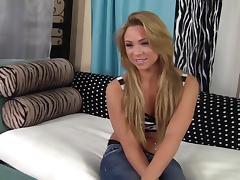 18 Yr Blonde Teen Katerina Fucked
