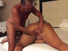 Wanker fucking his wife