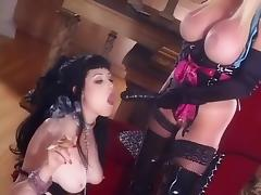 Hottest pornstars Taylor Wane and Smoking Mary Jane in exotic spanking, blonde porn scene