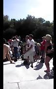 sexy dance outdoor
