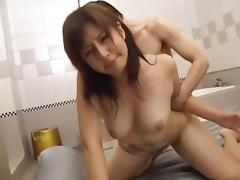 Exotic Japanese whore Amatsuka Tsubasa in Incredible Big Tits, Showers JAV scene